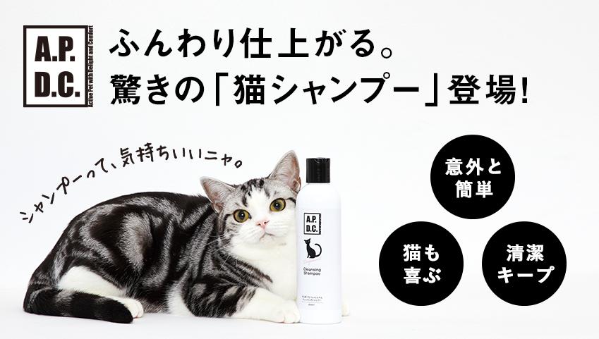 猫専用ケアシリーズが新登場